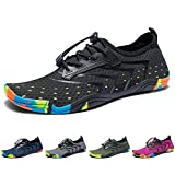 Madaleno Water Shoes Quick-Dry Barefoot Sport Aqua Shoes for Beach Swimming Diving Surfing