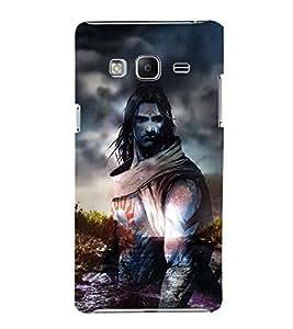 Shiva 3D Hard Polycarbonate Designer Back Case Cover for Samsung Galaxy Z3 Tizen :: Samsung Z3 Corporate Edition