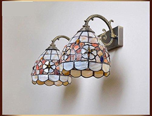 Lampada Da Parete A Specchio Perline Lampada Lampada Da Parete Navata Laterale Comodino Balcone Parete Camellia Americano , No Light Source,no light source
