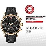 SWISS MILITARY-HANOWA Herren Analog Quarz Uhr mit Leder Armband 06-4278.09.007