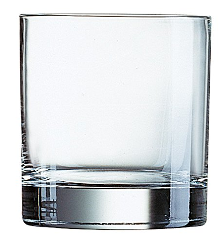 Arcoroc Islande FB20 Whiskey - 6 vasos de vidrio Whiskey de 200ml