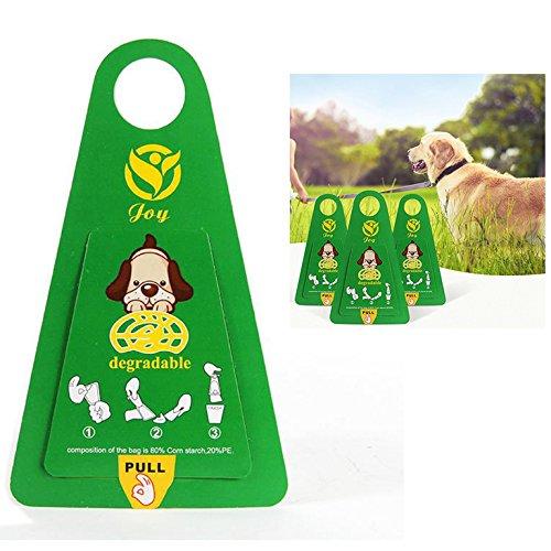 OFKPO 12 Stück Hund Reinigen Zubehör,Portable Hundekotbeutel/Hundetüten für Haustier Abfälle (Haustier Abfall-entsorgung Hund)