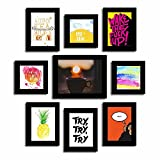Art Street Set of 9 Quote Photo frames -...