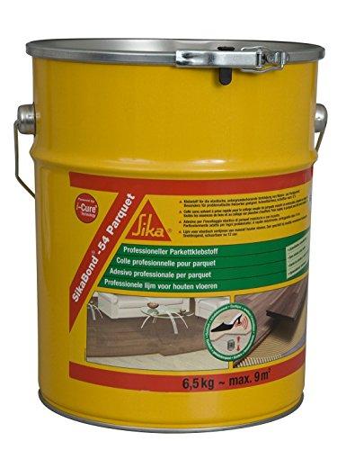 Sika 423107 sikabond 54 spatulable poliuretano colla per parquet 6,5 kg