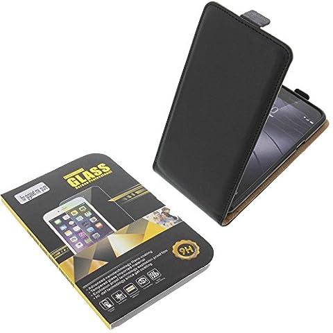 Tasche für Gigaset Me Pure Smartphone Flipstyle Schutz Hülle schwarz