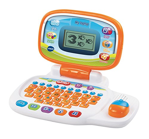 VTech 155403 Pre-School My Laptop - White/Orange
