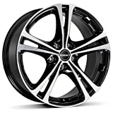 Borbet XL black polished 7,5x17 ET50 5.00x114 Hub Bore 72.50 mm - Alu felgen