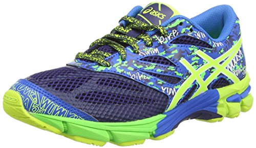 ASICS Gel-Noosa Tri 10 Gs, Chaussures Multisport Outdoor Mixte enfant Bleu (Navy/Off 5099)