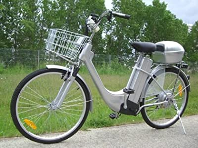 Electric City Bicycle 250w 36v 6 speeds upto 25km/h drum brakes