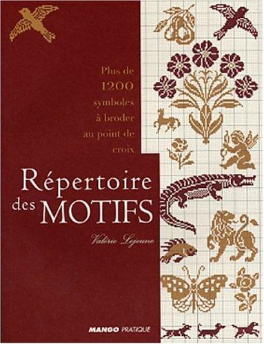 Répertoire des motifs : Plus de 1200 symboles à broder au point de croix