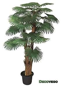 Palmier tallipot r nier plante arbre artificielle for Amazon plante artificielle
