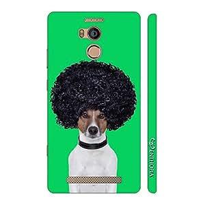 Enthopia Designer Hardshell Case AFRO DOG Back Cover for Gionee Elife E8
