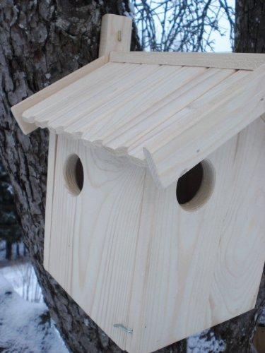 Eichhrnchen-Haus-Bausatz-XXXL-Ei-Bausatz-Eichhrnchenhaus-Bausatz-Nistkasten-Kobel-Holzschindeldach-Vogelhaus