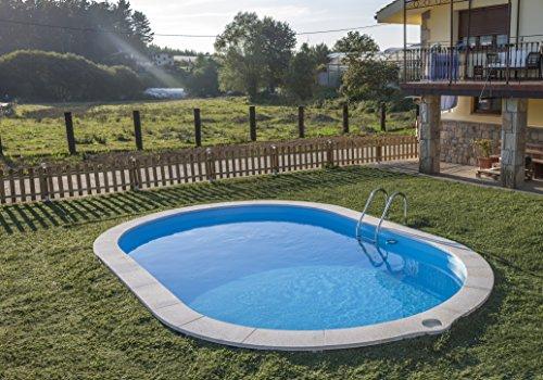 Gre kpeov5027 - piscina ovale interrata dim: 500x300 h 120