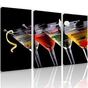 S56 glasses 3 quadri moderni 120x80 cm stampa digitale su tela ideale per arredo cucina - Quadri moderni cucina ...