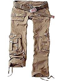 0b37b67cc16e Juicy Trendz Femmes Pantalon Armée Militaire Dames Cargaison Haleter