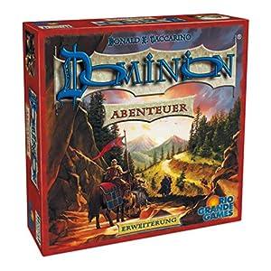 Dominion - Aventura, Juego de Estrategia, de 2 a 4 Jugadores (Rio Grande Games 22501408) (versión en alemán)