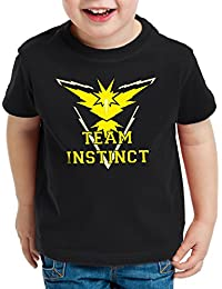 CottonCloud Team Instinct Kinder T-Shirt Gelb Instinkt