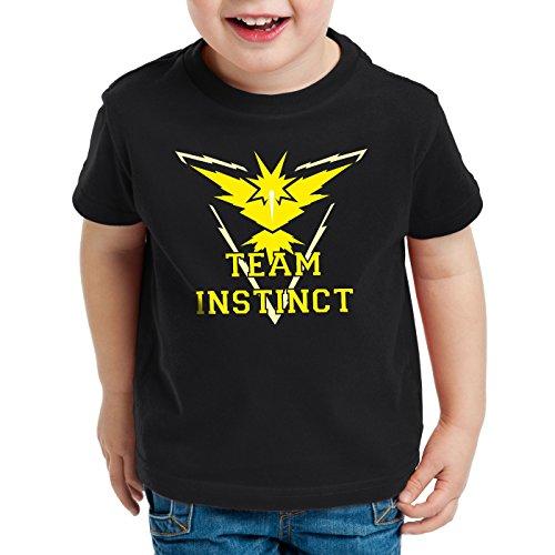 tinct Kinder T-Shirt Gelb Instinkt, Farbe:Schwarz;Größe:140 ()