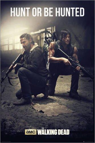 Poster The Walking Dead - Hunt - preiswertes Plakat, XXL Wandposter