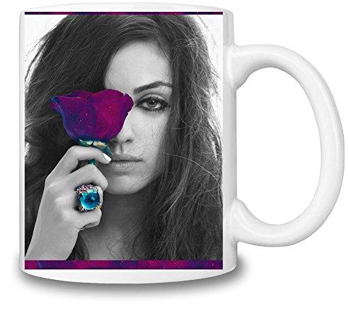 Moss Rose Cup (Mila Kunis Rose Portrait Mug Cup)