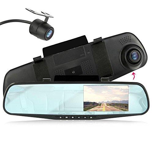 Pyle Nummernschild Rückfahrkamera Backup Farbe Kamera mit Abstandsmesser