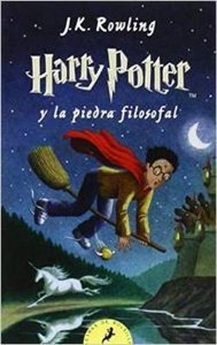 Harry Potter Piedra Filosofal Letras Bolsillo