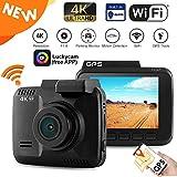 Best Caméra Avec Gps - Wifi Dashcam Caméra DVR Dashboard voiture caméra enregistreur Review