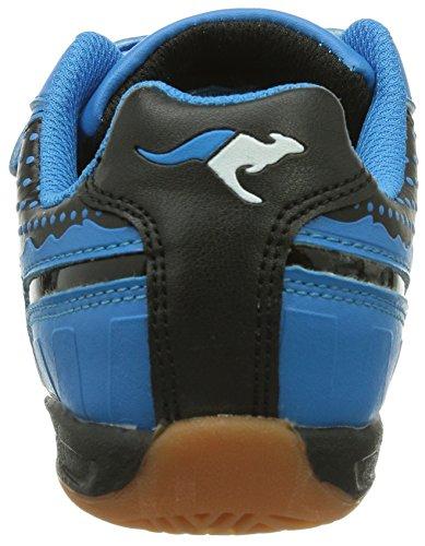 KangaROOS Kanga 3014 Jungen Sneakers Schwarz (black/blue 544)