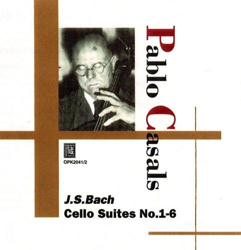 Bach Casals Cello-suiten (Pablo Casals J.S.Bach Cello Suites No.1-6)