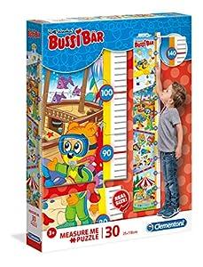 Clementoni 20333 Clementoni-20333-Measure Me Bussi - Puzzle para niños (30 Piezas), diseño de Oso