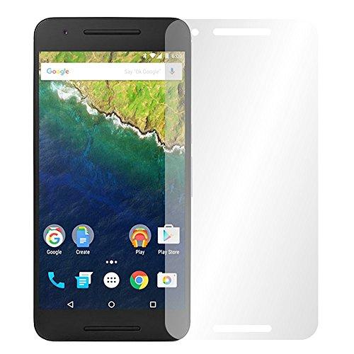 """4 x Slabo Displayschutzfolie für Huawei Google Nexus 6P Displayfolie Schutzfolie Folie Zubehör """"Crystal Clear"""" KLAR - unsichtbar MADE IN GERMANY"""
