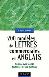 200 modèles de lettres commerciales en anglais