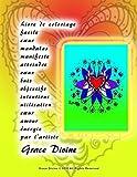 Telecharger Livres Livre de coloriage facile cœur mandalas manifeste atteindre vœux buts objectifs intentions utilisation cœur amour energie par l artiste Grace Divine (PDF,EPUB,MOBI) gratuits en Francaise