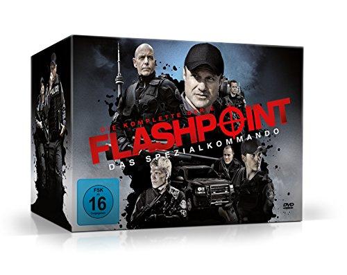 Flashpoint - Das Spezialkommando: Die komplette Serie [24 DVDs] -