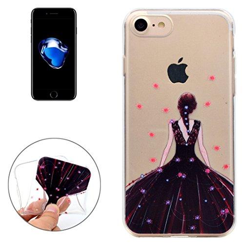 Mobiltelefonhülle - Für iPhone 7 Bestie Muster Soft TPU Schutzhülle ( SKU : Ip7g5351h ) Ip7g5351c