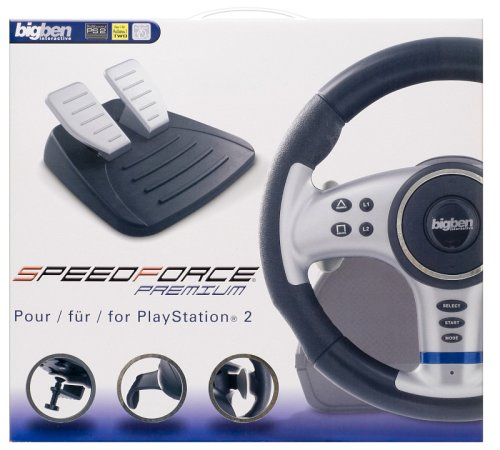 Playstation 2 - Lenkrad Speedforce Premium Wheel