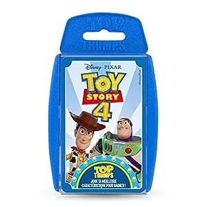 Winning Moves- Top Trumps Toy Story 4 Juega tu Mejor característica para Gagner, 0452, versión Francesa