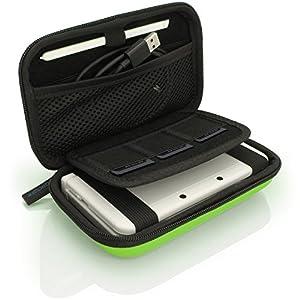 iGadgitz U3608 – Eva Hart Schutzhülle Kompatibel mit Nintendo 3DS (Nicht FÜR 3DS XL) – Grün