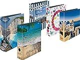 "Ordner maX.file A4 ""Sommer und Strand"" Edition | 5 Ordner ☀ Sommer Sonne Strand ☀ Edition"