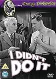 I Didn't Do It [DVD] [1945]