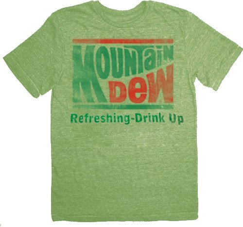 mountain-dew-refreshing-drink-up-vintage-adult-lime-green-t-shirt-tee-large