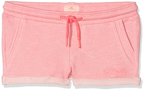 O'Neill Mädchen Chillout Streetwear Shorts, Geranium Pink, 152 - Mädchen Terry Shorts