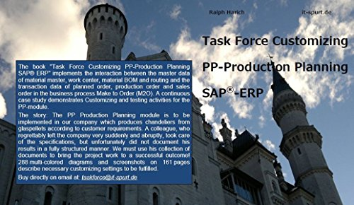 Task Force Customizing PP-Production Planning SAP-ERP