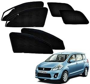 Auto Pearl MCurtain_Zpper_NewErtiga Zipper Magnetic Sun Shades Car Curtain for Maruti Suzuki Ertiga (Pack of 6)