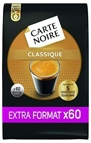 Carte Noire Classique N°5 - Extra Format 300 Dosettes souples (Lot de 5 X 60)