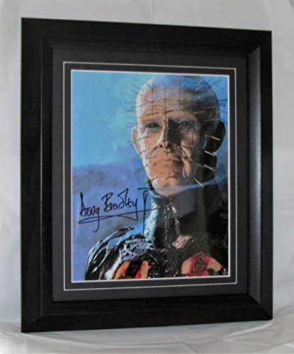 a343db Doug Bradley firmato Hellraiser Pinhead Framed garantita Authentic autografo