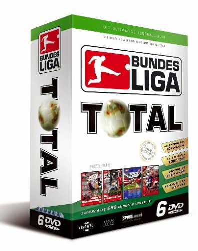 Bundesliga - Total Box-Set [6 DVDs] (2004 Fußball-box)