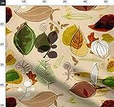 Herbst, Blatt, Blätter, Herbstblätter, Braun Und Grün,