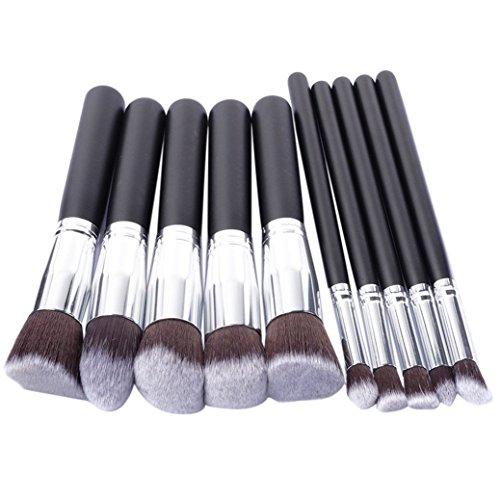 Fami Maquillage 10pcs pinceau cosmétique Pinceau fard à paupières